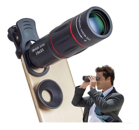 Lente Zoom 4k iPhone Zoom 18x Pro Hd X