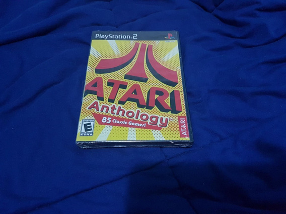 Atari Anthology Original Ps2 Lacrado
