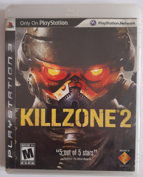 Killzone 2 Ps3 Mídia Fisica