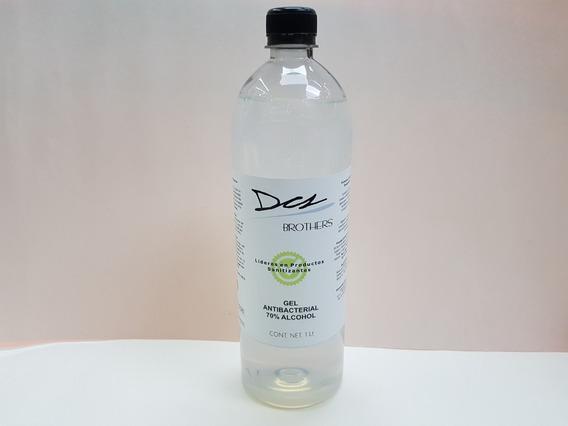 Gel Antibacterial 70% Alcohol 1 Lt Amplio Espectro Rendidor