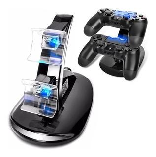 Cargador Ps4 Dual Joystick Controles Mando / Lhua Store