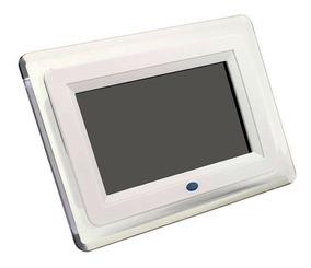 Porta Retrato Digital Branco Tela 7