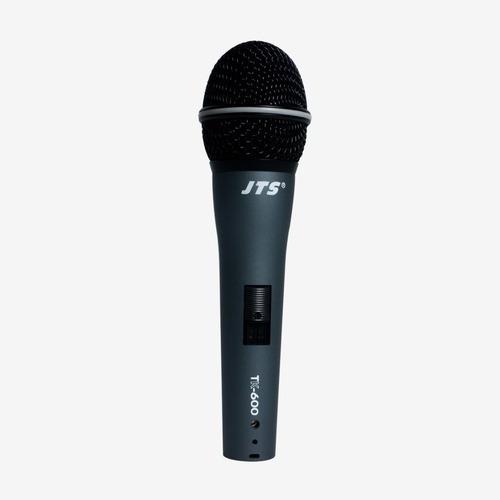 Microfone Bastão Com Fio Jts Series Tk600 Nf-e