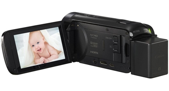 Canon Vixia Hf R700 Usada Em Bom Estado