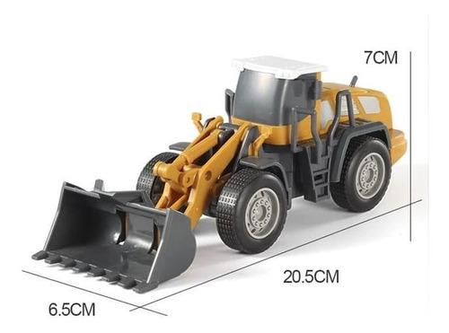 Brinquedo Trator Escavadeira Guindaste Construção Obra Carro