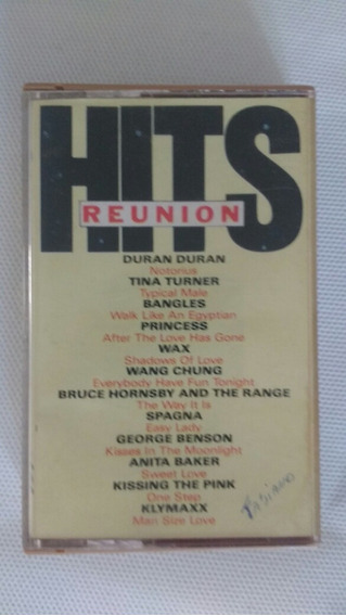 Fita K7 Hits Reunion - Original Coletanea Sucessos