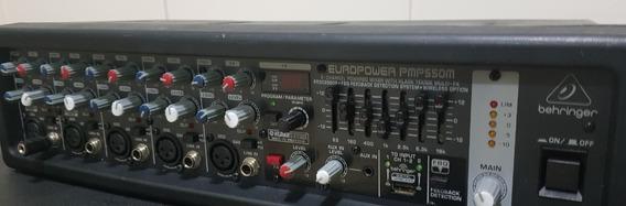 Mixer Amplificador Behringer Pmp550