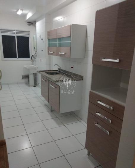 Lindo Apartamento Para Locação De 59 M2 No Condomínio Pleno En Andar Alto (engordadouro)!!! - Ap03016 - 67778523