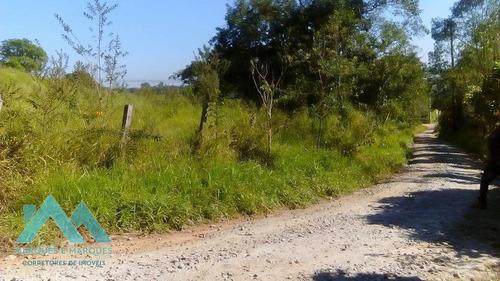 Imagem 1 de 3 de Terreno De Esquina Para Chácara À Venda, 1500 M² Por R$ 69.000,00 - Jardim Guadalupe - Caçapava/sp - Ch0002