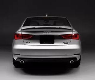Aerofólio Audi A3 Sedan Ambition S3 Fibra Black Piano Agress