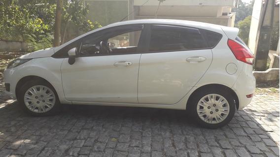 Ford New Fiesta 1,5s Flex 14/14 Branco Unico Dono