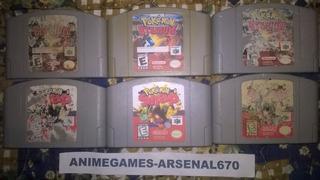 Nintendo 64 Pokemon Snap Y Pokemon Stadium B N64