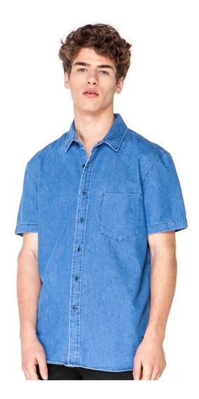 Camisa Vicus Marine Jean