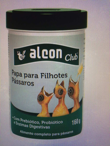 Alcon Club Papa Para Filhotes Pássaros 160g