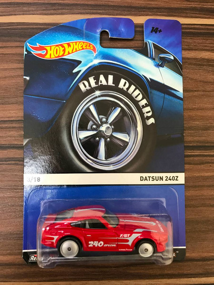 Hot Wheels Datsun 240z Real Riders Pneus De Borracha