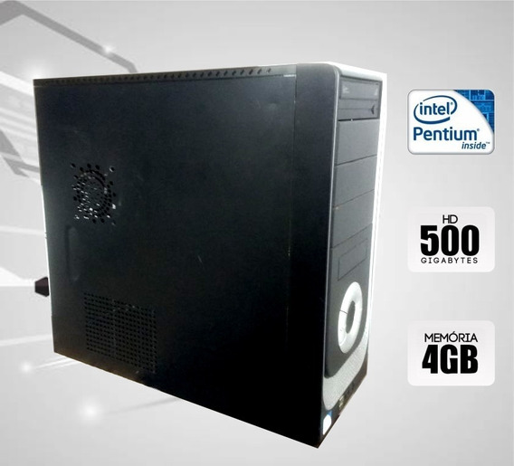 Computador Desktop Dual Core 4gb