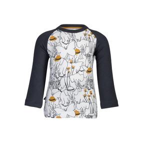 Camiseta De Manga Longa - Noeser - Elephant - Branco