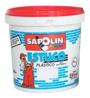Estuco Plastico Interior 6 Kl 34011y66 Sapolin