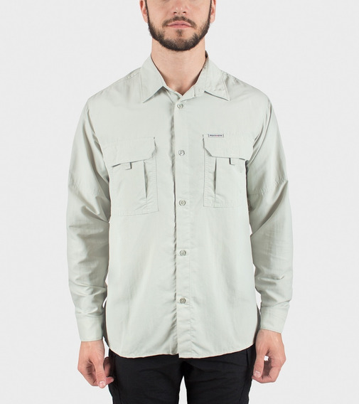 Camisa Montagne Botsuana Manga Larga Hombre