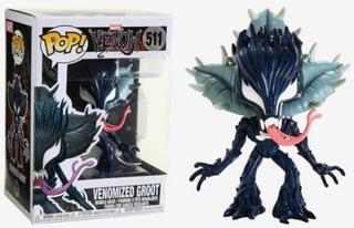 Funko Pop 511 Venomized Groot Marvel