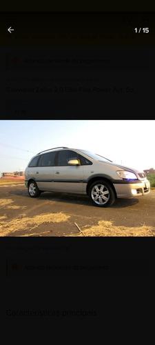 Imagem 1 de 15 de Chevrolet Zafira 2005 2.0 Elite Flex Power Aut. 5p
