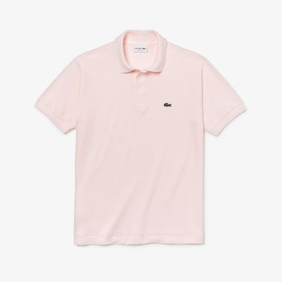Polo Lacoste L1212 Classic Fit Color Flamingo