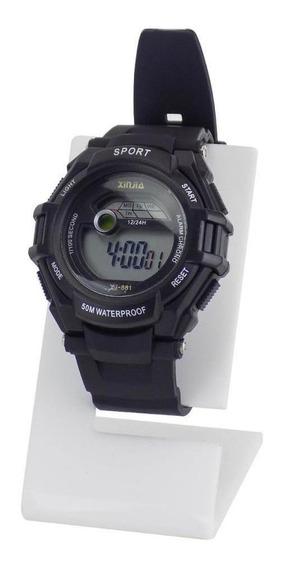 Relógio Masculino Digital Á Prova D´água