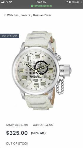 Relógio Invicta 10553 Raridade - Raro Original