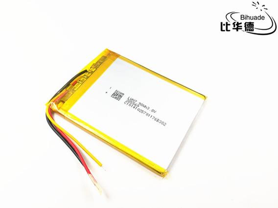 Bateria 2200 Mah 3,7v 3 Fios Gps De 7 Polegadas Tablets Etc