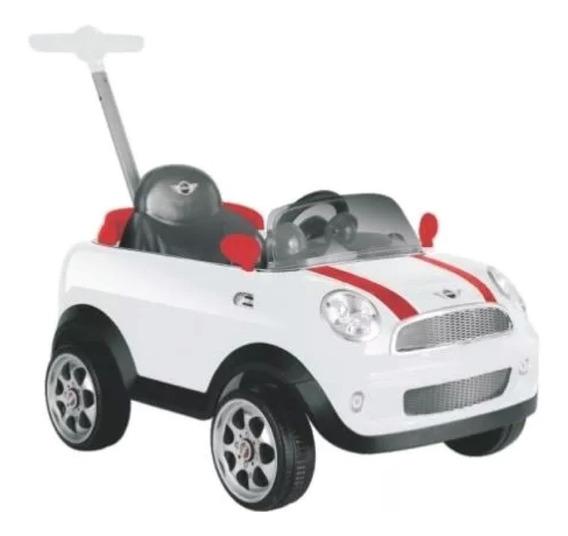 Coche Auto Barral Pata Empuje Mini Cooper Push Car Kiddy