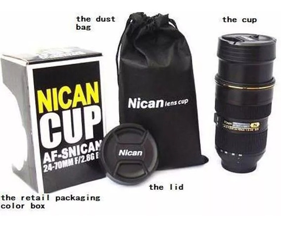 Copo Caneca Lente Nican - Nican 24-70mm C/ Zoom