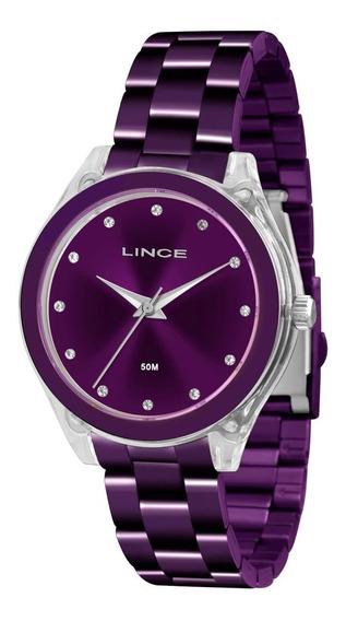 Relógio Lince Lrv4431p + Garantia De 1 Ano + Nf
