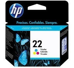 Cartucho Hp 22 Color Original C9352al. Compre Con Confianza