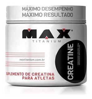 2x Creatina Max Titanium 300g Combo Kit