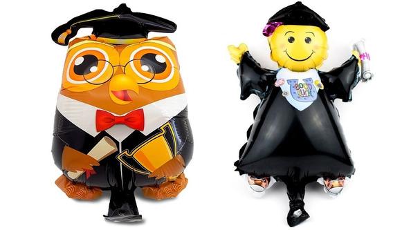 Globos Pequeños De Graduación Para Centro De Mesa O Arreglo