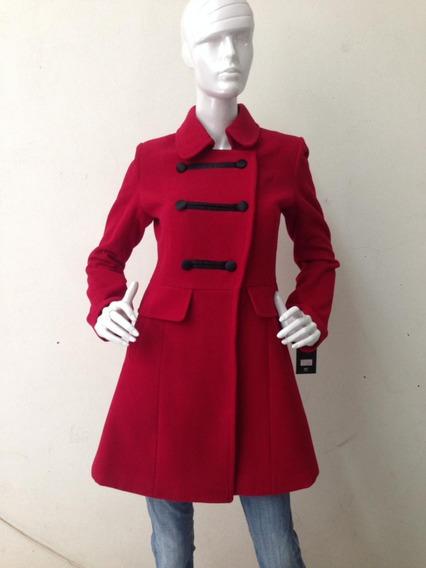 Abrigo Mujer Rojo Azul Negro
