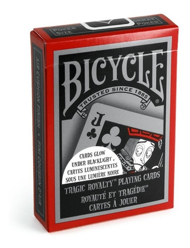 ¡ Cartas Bicycle Tragic Royalty Baraja Poker Black Jack !!