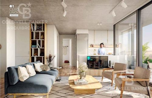Apartamento Monoambiente En Venta En Aguada
