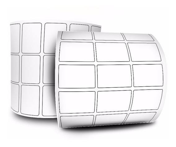 Etiqueta 33x22 Mm 3 Colunas Térmico Zebra Gx420 Gc420 Tlp284
