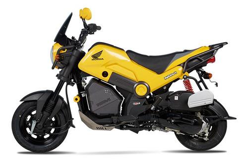 Moto Honda Navi 110 Automática - Amarilla