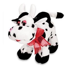 Kit 3 Bichos De Pelúcia Fazenda Vaca Cachorro Ovelha Unissex