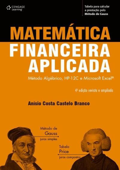 Matematica Financeira Aplicada - 4ª Ed