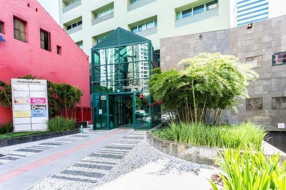 Sala À Venda, 47 M² Por R$ 360.000 - Centro - Curitiba/pr - Sa0016