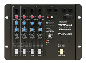 Ciclotron Wattsom Mxm4 Sa Mesa De Som 4 Canais