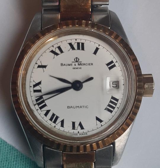 Relógio Baume & Mercier Baumatic Suíço Vintage