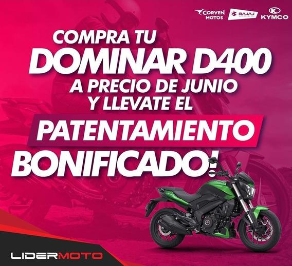 Nueva Bajaj Dominar D 400 Lidermoto 12 Cuotas Sin Interés !