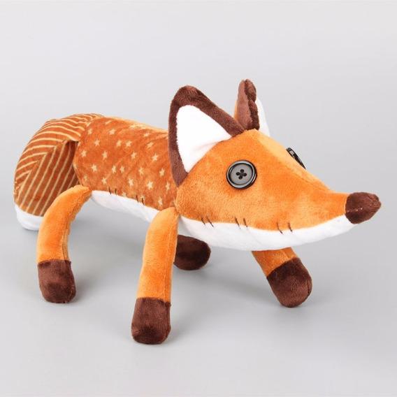 Pelúcia Raposa Fox Pequeno Príncipe 45cm Modelo Novo