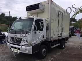 Mercedes-benz Accelo 1016 Baú Refrigerado Com 70 Mil Km