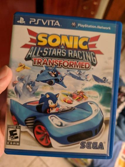 Jogo Psvita Sonic All-stars Racing Ps Vita