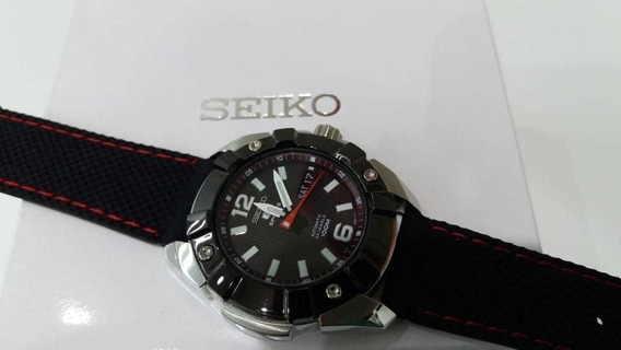 Seiko Sports Automático Fundo Transparente